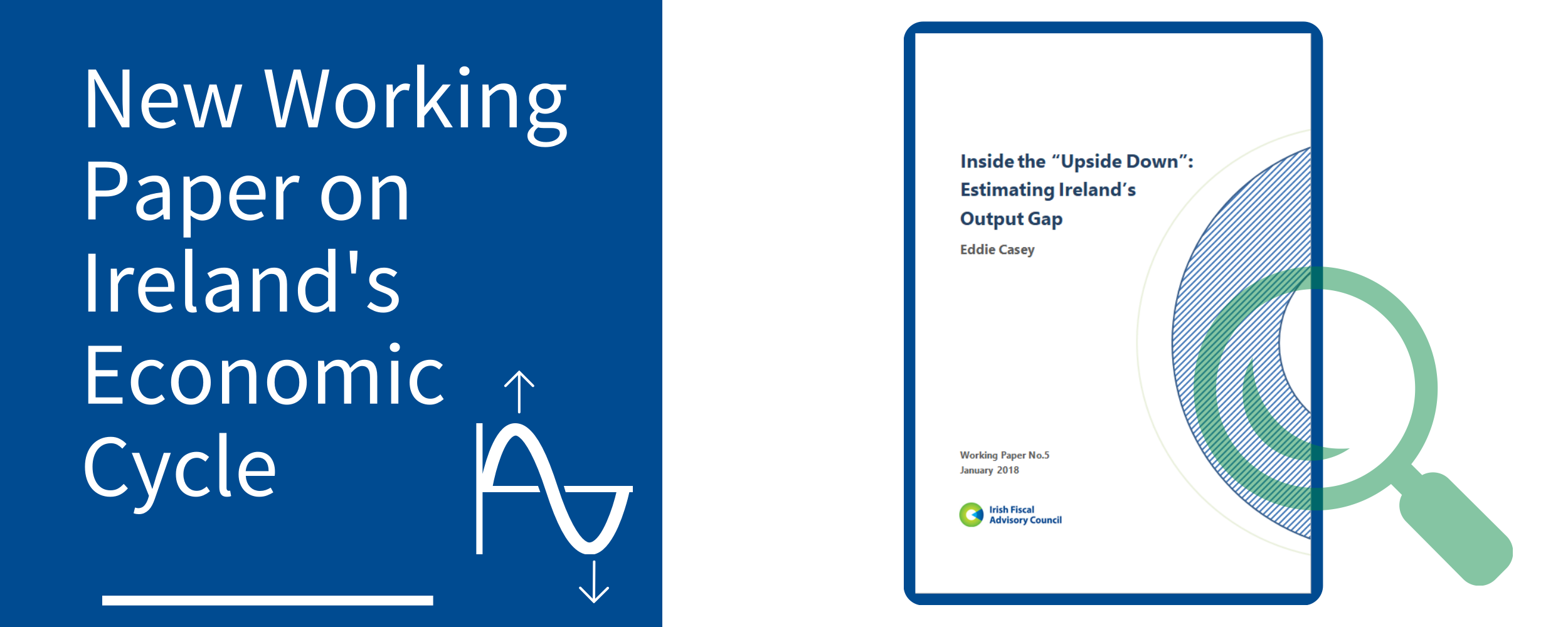 """New Working Paper on Ireland's Economic Cycle: """"Inside the 'Upside Down': Estimating Ireland's Output Gap"""""""