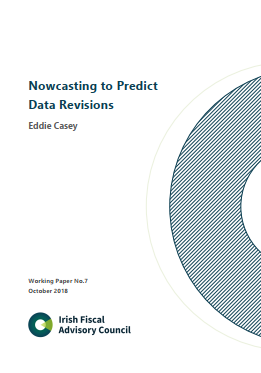Working Paper No. 7. Nowcasting to Predict Data Revisions