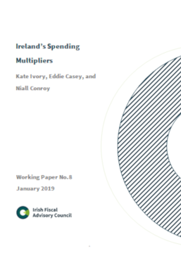 Working Paper No. 8. Ireland's Spending Multipliers
