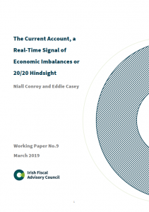 Working Paper No. 9. The Current Account, a Real-Time Signal of Economic Imbalances or 20/20 Hindsight