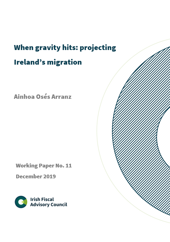 Working Paper No. 11. When gravity hits: projecting Ireland's migration