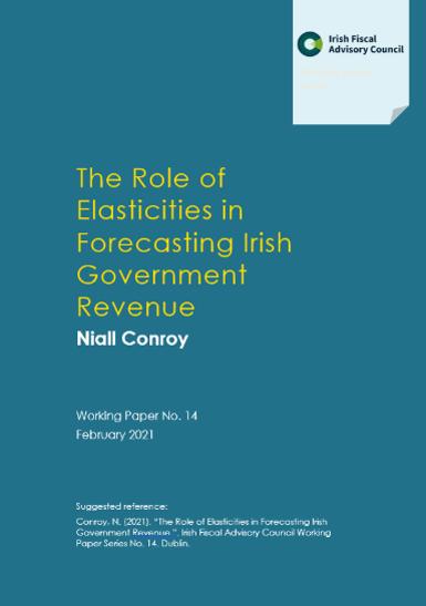 The Role of Elasticities in Forecasting Irish Government Revenue