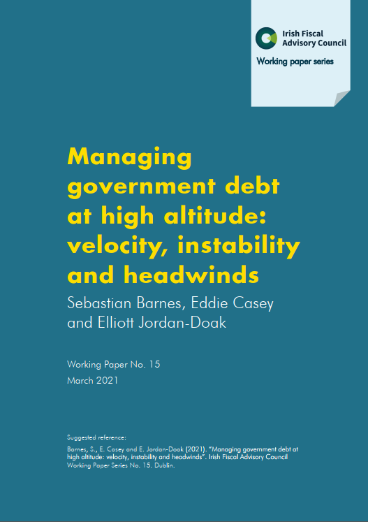 Managing government debt at high altitude